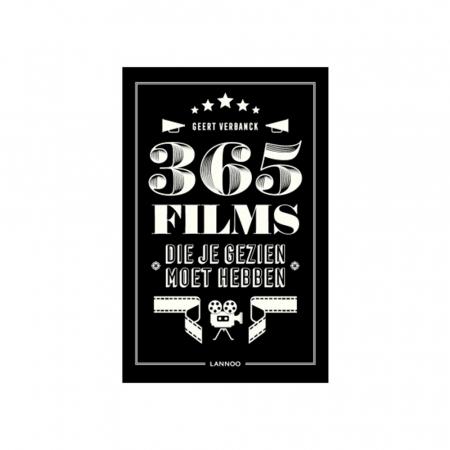 Boek '365 films die je gezien moet hebben' van Geert Verbanck
