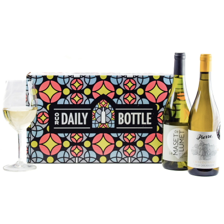 Holiday Whites: cadeauverpakking met twee flessen witte wijn