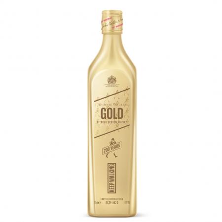 Johnnie Walker Highball-whisky in goud