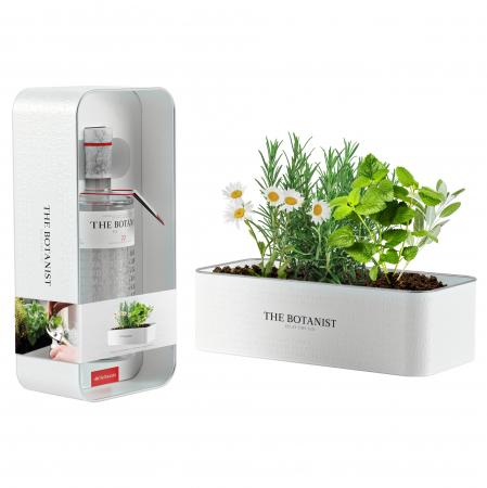 The Botanist Tin Planter: gin-giftbox met kruidenzaadjes die je zelf kan kweken