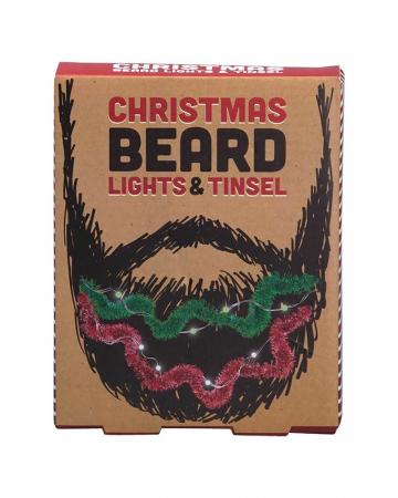 Kerstlichtjes voor in de baard