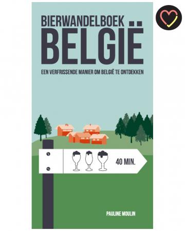 Boek vol bierwandelingen doorheen België