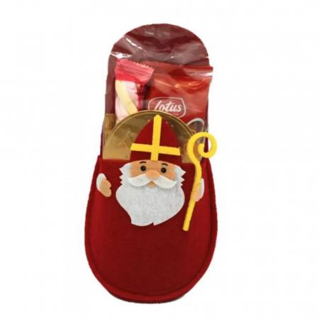 Sinterklaaspantoffel vol snoep