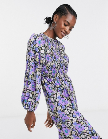 Jumpsuit in bloemenprint