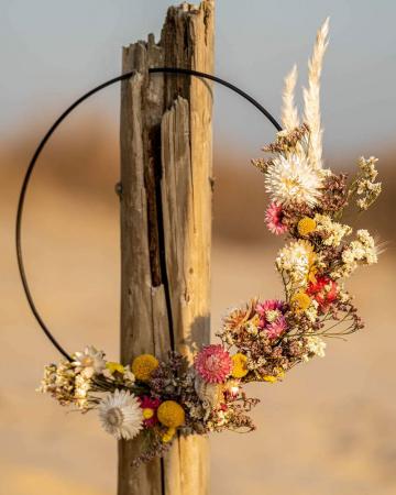DIY-pakket floral hoop