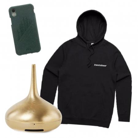 Rituals-verstuiver, telefoonhoesje en hoodie