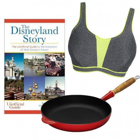 Koekenpan, 'The Disneyland Story' en een sportbeha