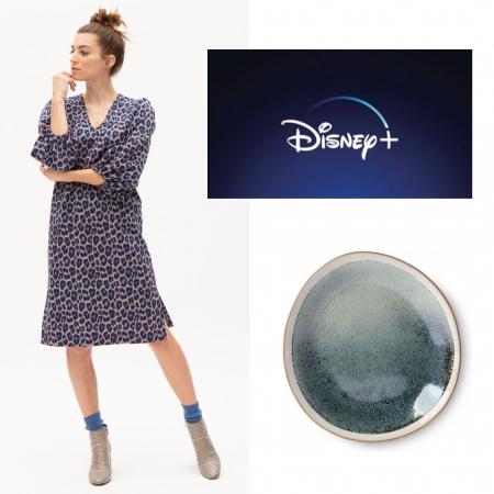 Jurk, servies en Disney+-abonnement