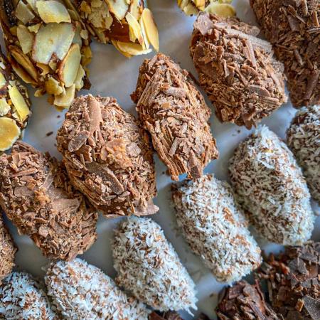 Vegan chocoladetruffels