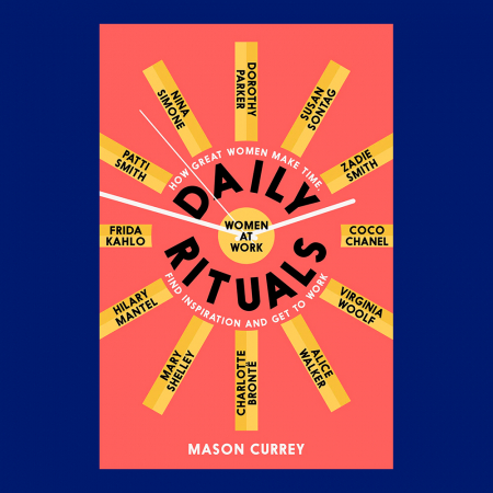 Boek 'Daily Rituals – How great women make time, find inspiration and get to work' van Mason Currey