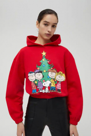 Rode Snoopy-sweater