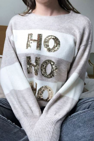 Ho Ho Ho-kersttrui