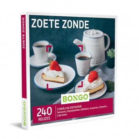 Bongo-bon 'Zoete zonde' voor verschillende Belgische koffie- en theehuizen