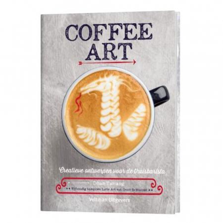 Boek 'Coffee art' van Dhan Tamang