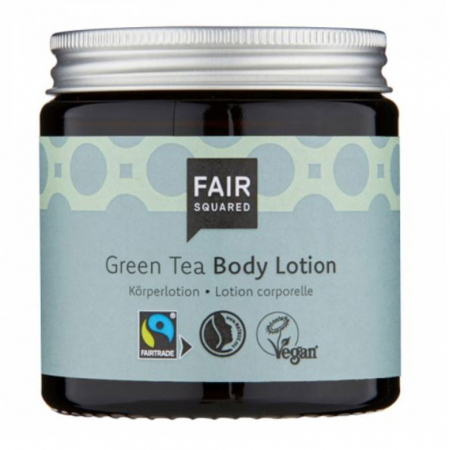 Bodylotion op basis van groene thee