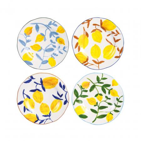 Set van 4 borden