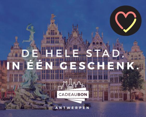 Een Stadsbon om eens lekker te gaan eten waneer de horeca weer open zijn (mogelijk in meerdere Vlaamse steden)