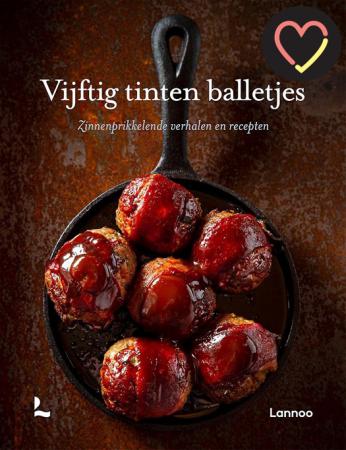 Kookboek 'Vijftig tinten balletjes' van Stefaan Daeninck