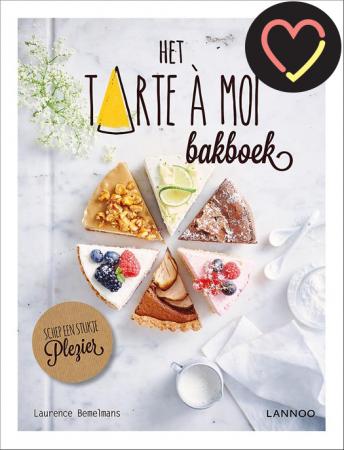 Tarte à moi-kookboek met recepten van foodblogster Laurence Bemelmans