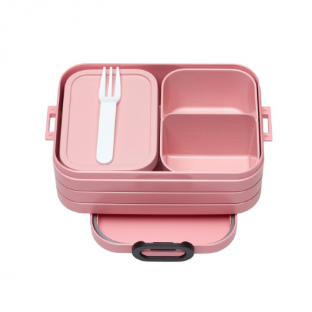 Bento-lunchbox in Nordic Pink
