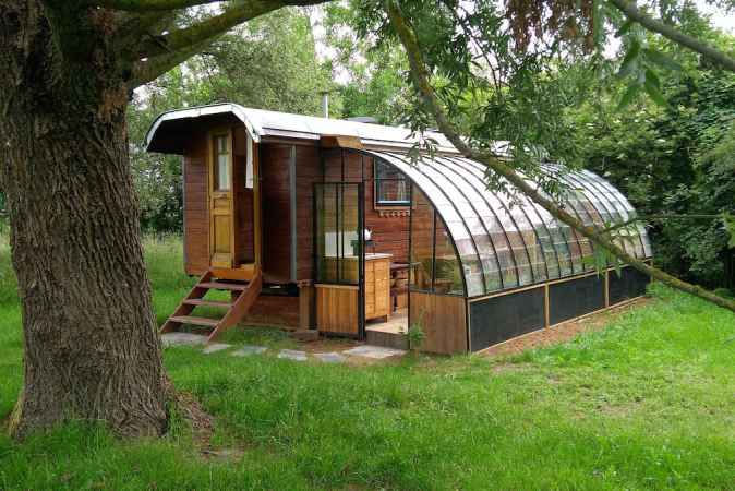 Tiny house in Bârsy