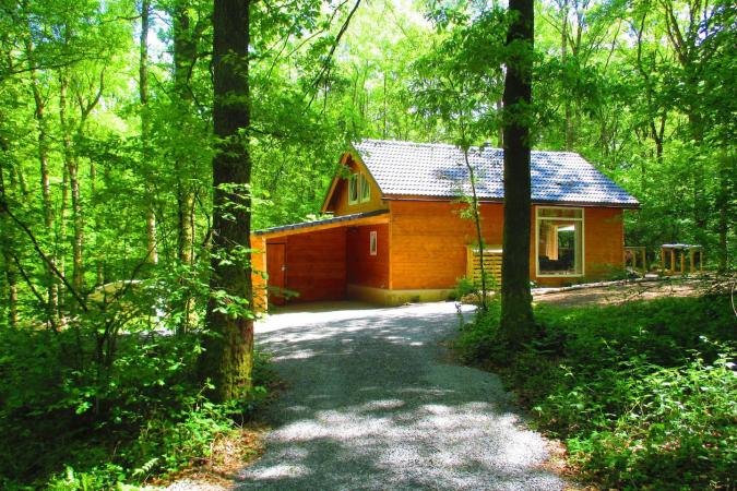 Moderne chalet met sauna inOignies-en-Thiérache