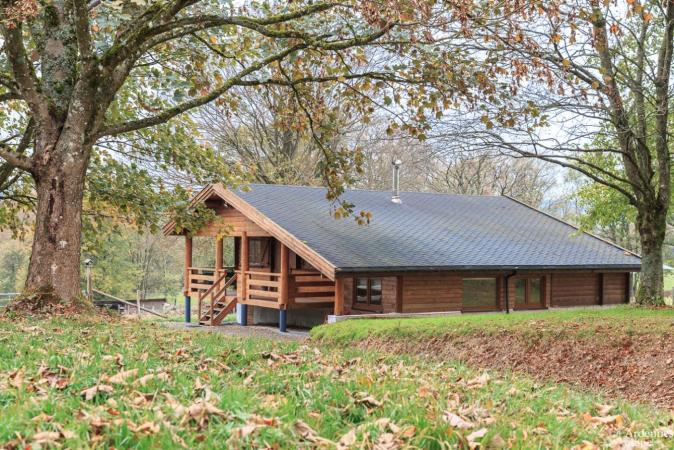 Grote cottage met sauna in Vielsalm