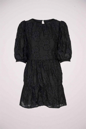 Zwarte korte jurk