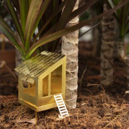 Boomhut voor in plantenbak