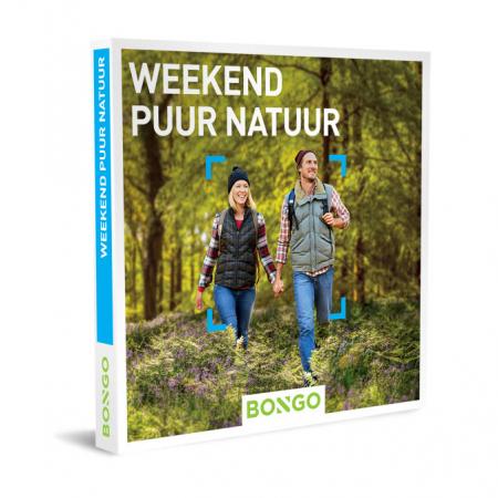 Cadeaubon 'Weekend puur natuur'