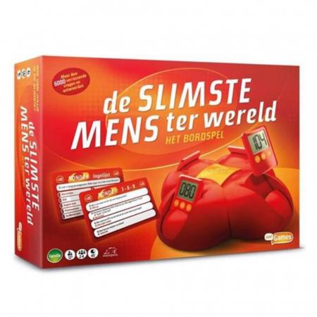 Gezelschapsspel 'De Slimste Mens ter Wereld'