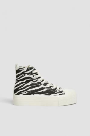 Sneakers in dierenprint