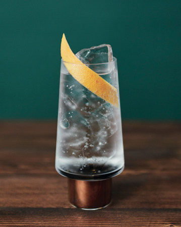Virgin gin-tonic