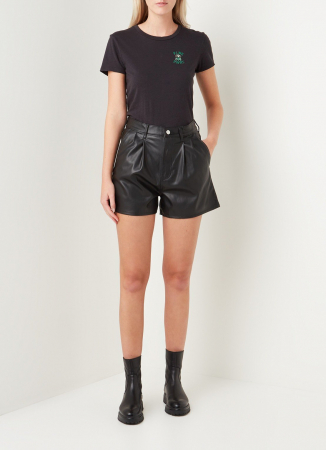 Short en imitation cuir