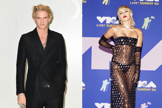 Miley Cyrus en Cody Simpson