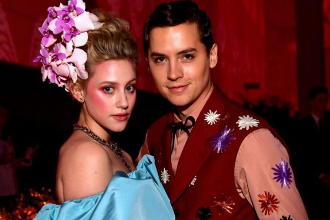 Lili Reinhart en Cole Sprouse