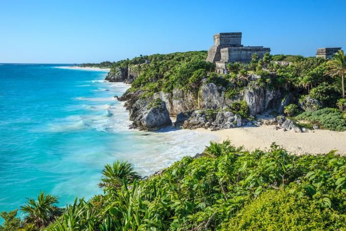 Tulum Beach au Mexique
