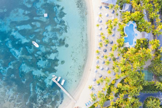 La Barbade dans les Caraïbes