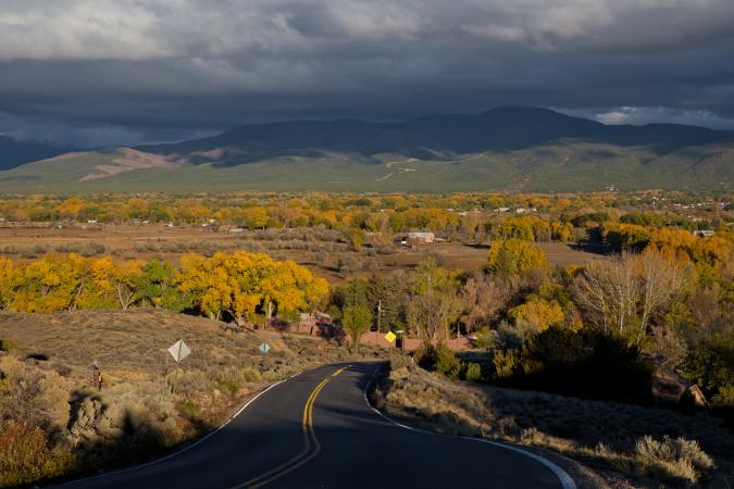 Comté de Taos au Nouveau Mexique
