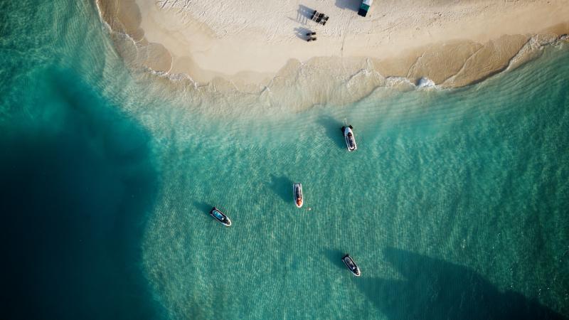 Maafushi aux Maldives