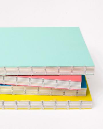 Notitieboek van gerecycleerd papier