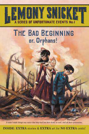 'A Series of Unfortunate Events #1: The Bad Beginning' van Lemony Snicket (Engelstalig)