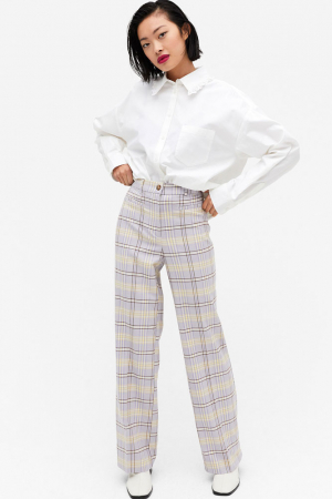 Geklede rechte broek