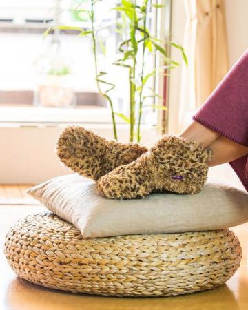 Verwarmbare pantoffels