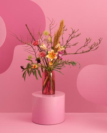 Un bouquet de fleurs fraîches