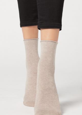 Beige sokken
