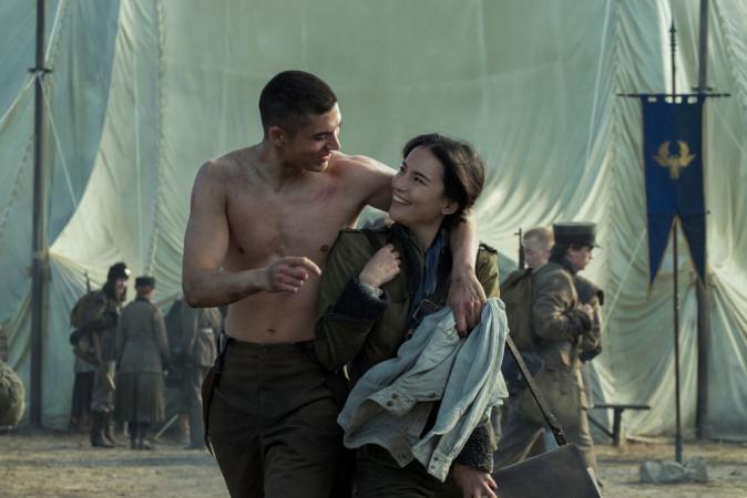 Malyen Oretsev en Alina Starkov