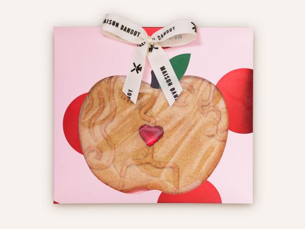 Le biscuit amoureux de chez Dandoy