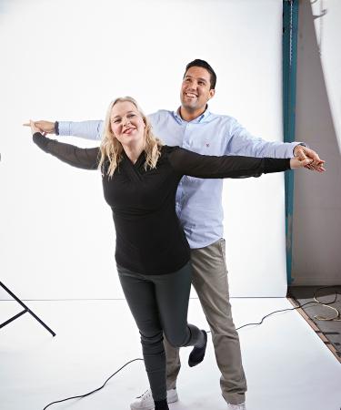 Wat lezers Janine en Carlos hier doen? Dat ontdek je in Flair op blz. 56.