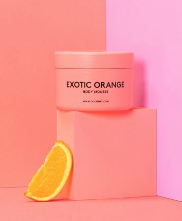 Mousse à l'orange exotique